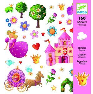 Djeco Samolepky Princezničky (160 ks)