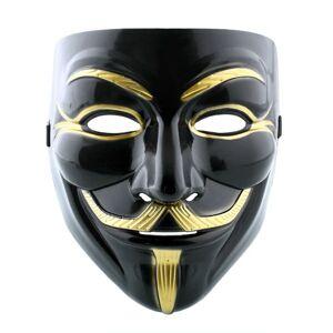Anonymous maska Vendetta - čierna