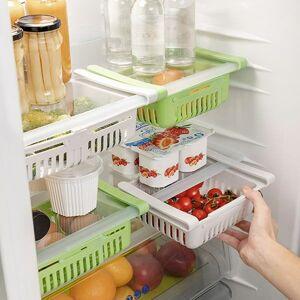 Nastaviteľný organizér do chladničky Friwer (2 kusy)