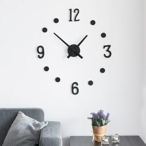Nalepovacie nástenné hodiny