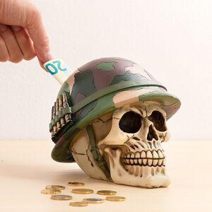 Pokladnička lebka vojak