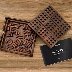 Prémiová drevená hra sudoku Iron & Glory