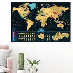 Stieracia mapa sveta Deluxe (slovenská verzia)
